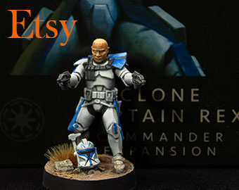 Star Wars Legion:Clone Captain Rex