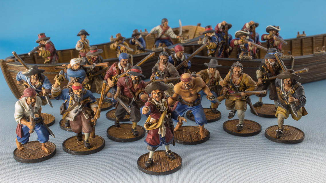 Blood & Plunder miniatures