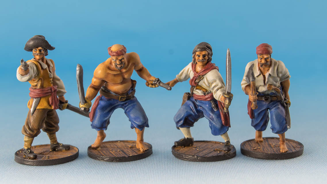 Spanish Marineros, Firelock Games, 2018
