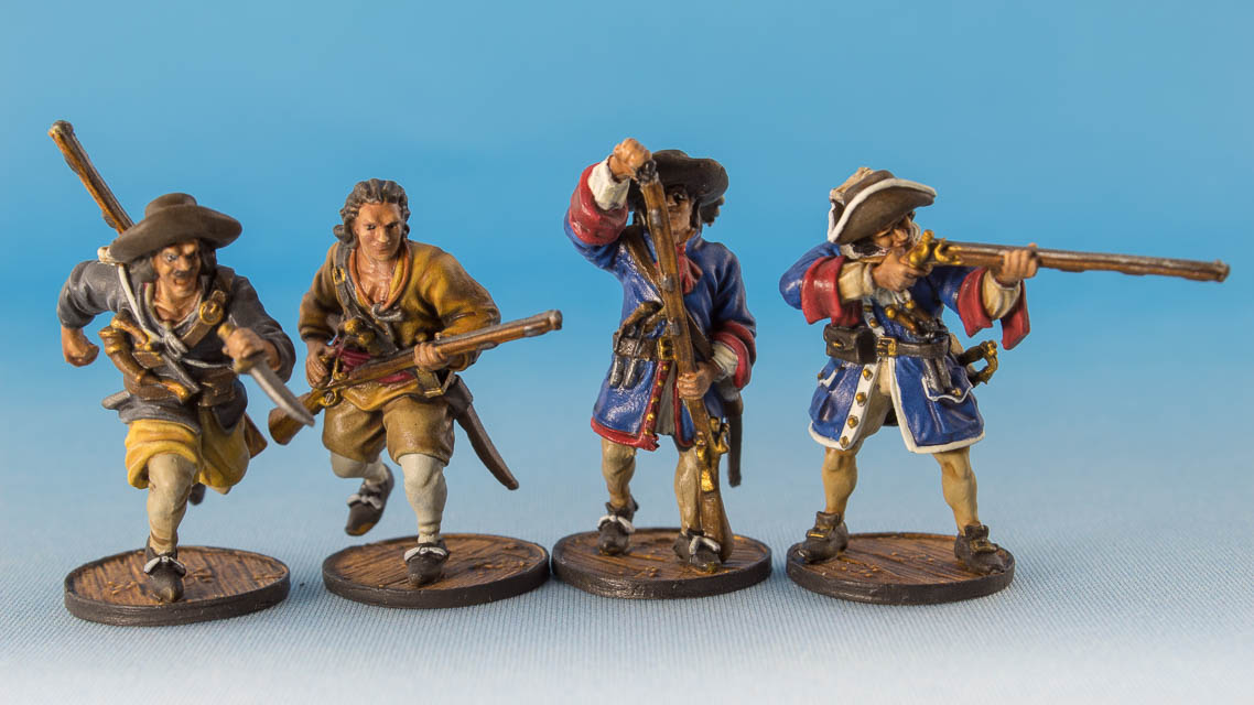 French Flibustiers, Firelock Games, 2018