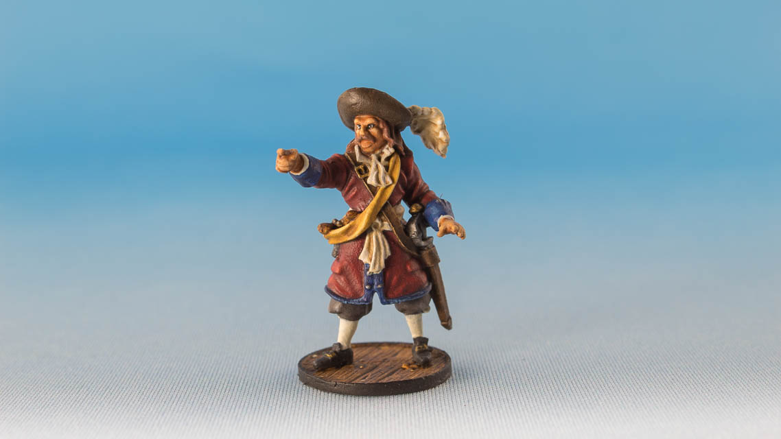 English Buccaneer Commander, Firelock Games, 2018