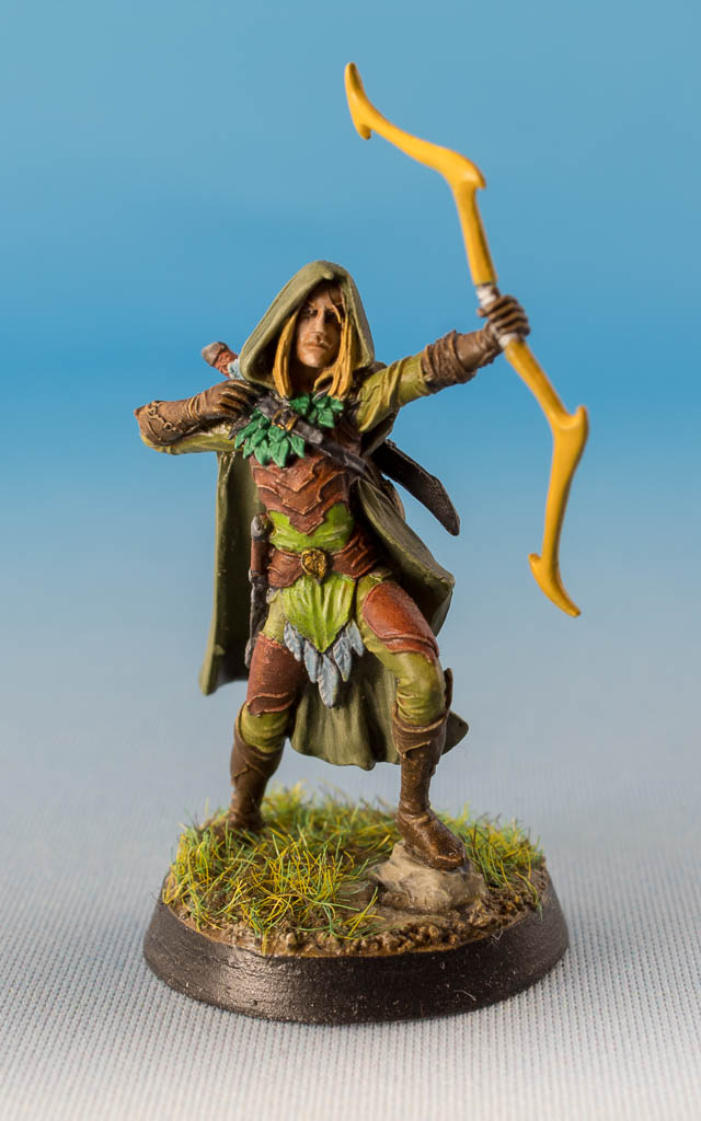 Male Wood Elf Archer