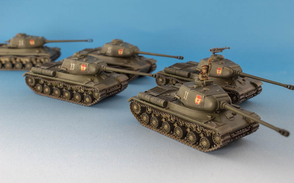 Soviet IS-2 obr 1944, Battlefront Miniatures, 2017