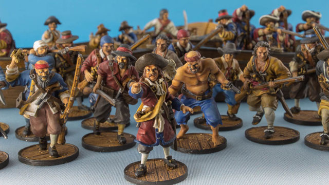 Brethren of the Coast pirate force for Blood & Plunder