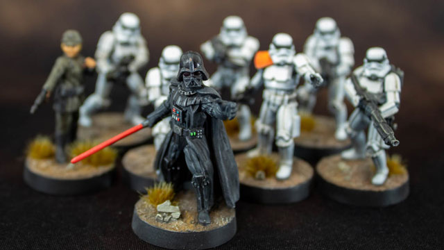 Star Wars Legion: Darth Vader with Stormtroppers