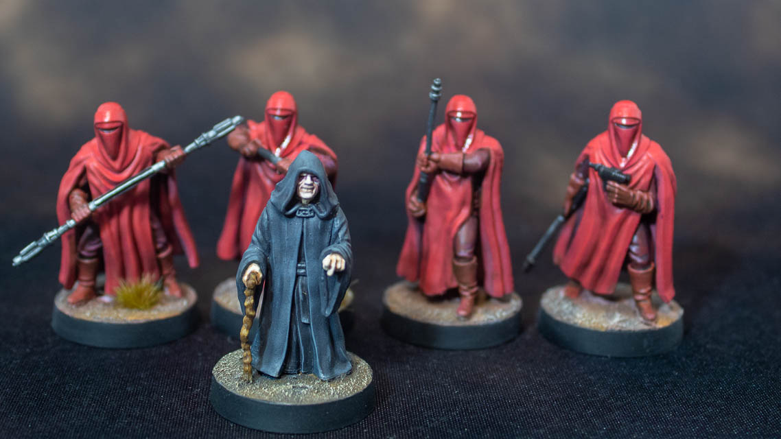Star Wars Legion: Emperor Palpatine with Stormtroppers