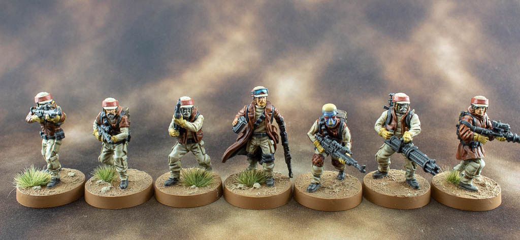 Forest Themed Rebel Troopers